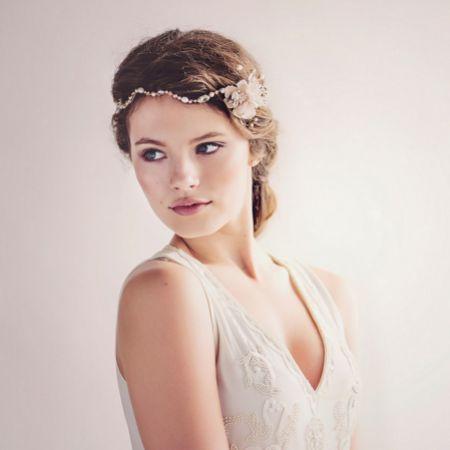 Andromeda Bohemian Bridal Headpiece
