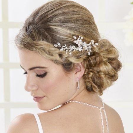 Arianna Briar Small Floral Bridal Hair Comb AR554