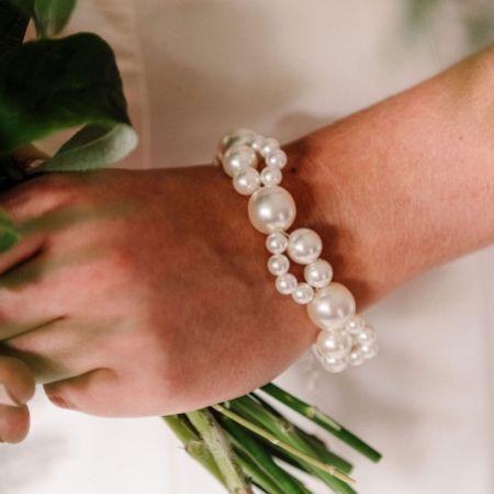 Arianna Nerina Chunky Pearl Bracelet ARW612