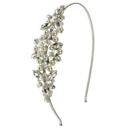 Arianna Pearl Star Bridal Headband AR425