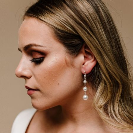 Arianna Purity Pearl Drop Earrings ARE617