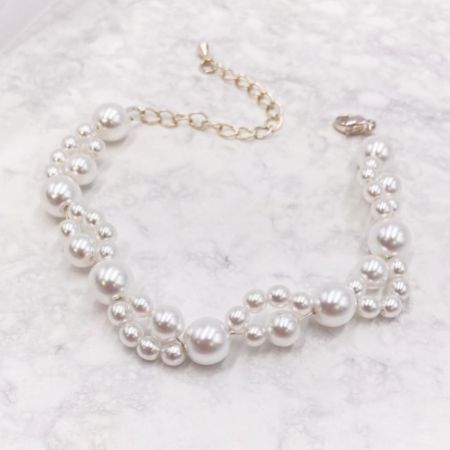 Arianna Siren Dainty Pearl Bracelet ARW611