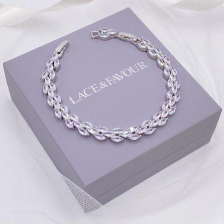 Beaumont Cubic Zirconia Wedding Bracelet