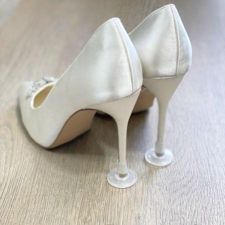 Clean Heels Plain Clear Heel Stoppers (Petite)