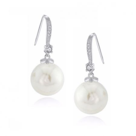 Demi Classic Pearl Drop Earrings