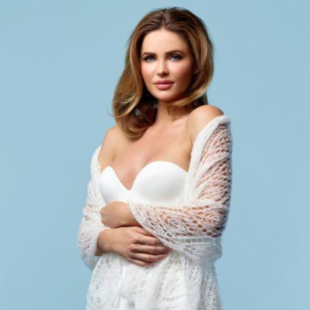 Eva Ivory Knitted Mohair Wedding Shawl