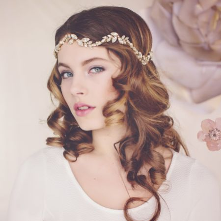 Florence Couture Crystal Bridal Halo