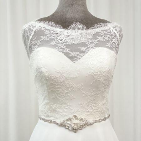 Harper Rose Beaded and Diamante Bridal Belt