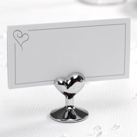 Heart Place Card Holder - Pack of 12