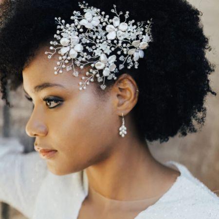 Hermione Harbutt Eros Pearl Drop Earrings