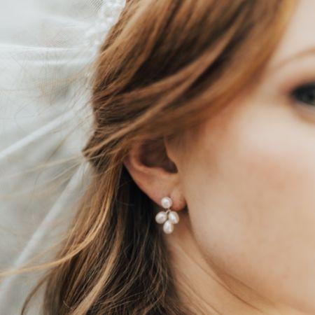 Hermione Harbutt Kensington Freshwater Pearl Earrings
