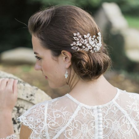 Hermione Harbutt Novia Floral Inspired Bridal Hair Pins