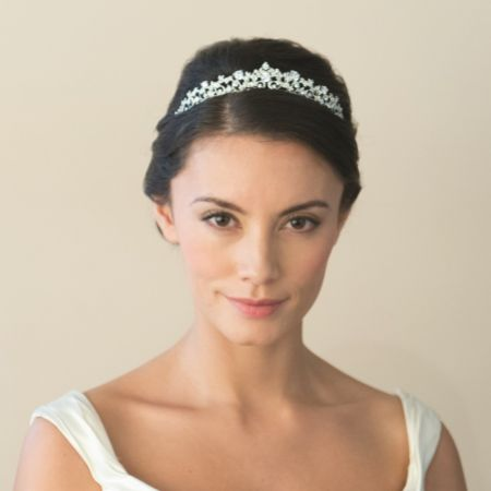 Ivory and Co Clementine Crystal Embellished Wedding Tiara