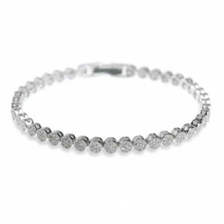 Ivory and Co Modena Crystal Embellished Wedding Bracelet