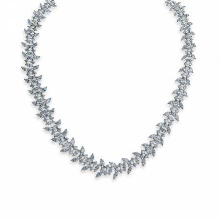 Ivory and Co Montague Crystal Embellished Wedding Necklace
