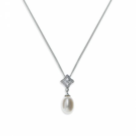 Ivory and Co Morocco Pearl Pendant Necklace