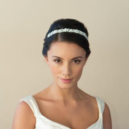Ivory and Co Natalia Crystal Embellished Bridal Headband