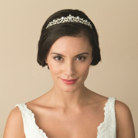 Ivory and Co Precious Gold Crystal Embellished Tiara