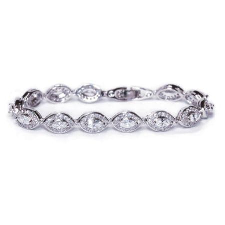 Ivory and Co Promise Cubic Zirconia Wedding Bracelet