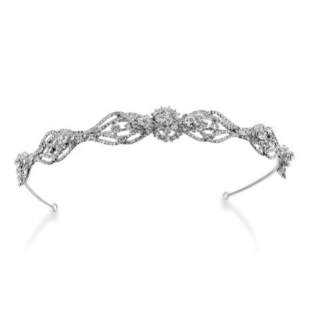Ivory and Co Renee Crystal Embellished Wedding Headband