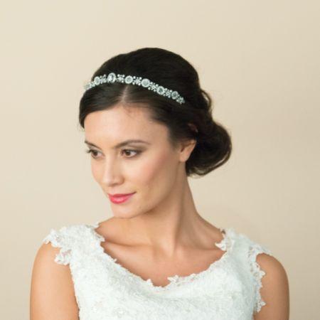 Ivory and Co Selma Art Deco Inspired Crystal Wedding Headband