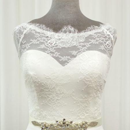 Joyce Jackson Sherford Vintage Inspired Beaded Dress Belt