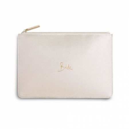 Katie Loxton 'Bride' Pearlescent White Perfect Pouch