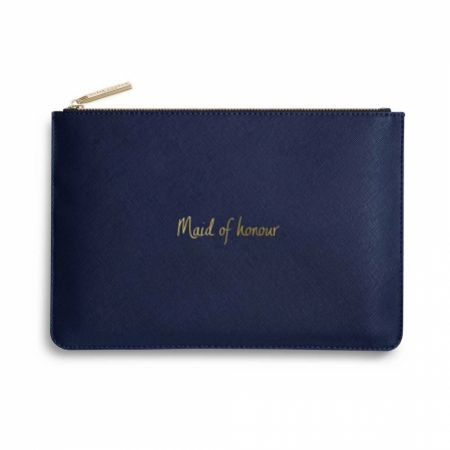 Katie Loxton 'Maid of Honour' Navy Blue Perfect Pouch