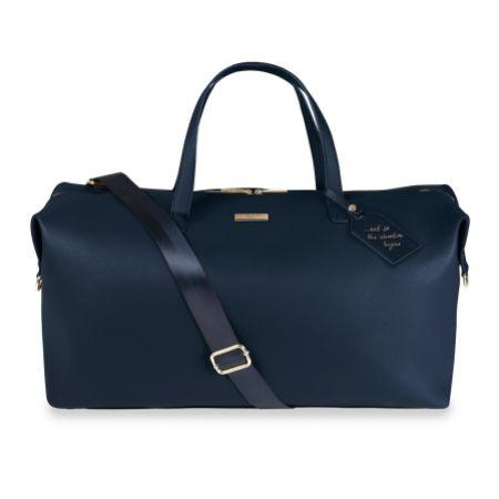 Katie Loxton Navy Weekend Holdall Duffle Bag