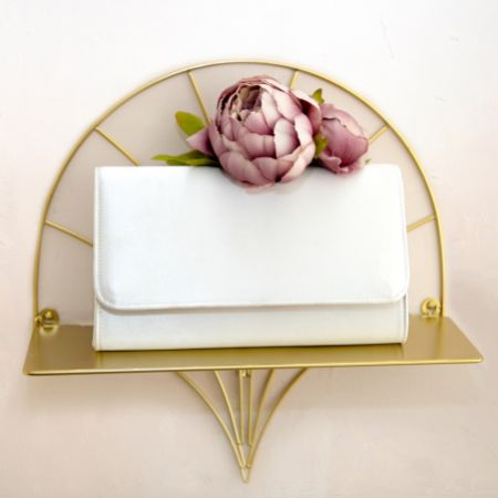Perfect Bridal Evie Dyeable Ivory Satin Clutch Bag