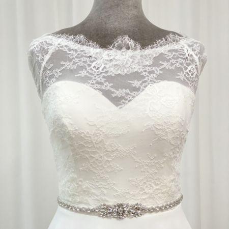 Perfect Bridal Georgia Crystal, Pearl and Rhinestone Bridal Belt
