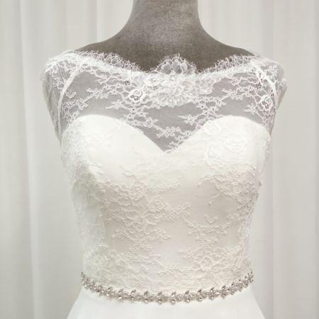 Perfect Bridal Leona Thin Diamante Wedding Belt