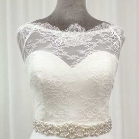 Perfect Bridal Lola Pearl and Crystal Embellished Dress Belt