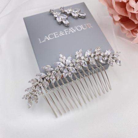 Rapture Small Crystal Wedding Hair Comb