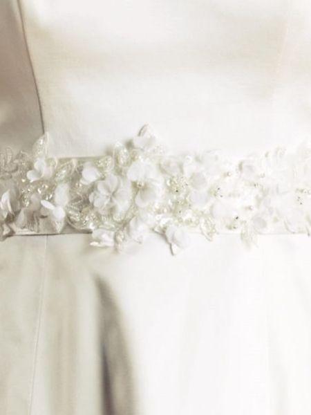 Joyce Jackson Moorhaven Flowers and Lace Dress Belt
