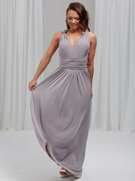 Lily Rose Dove Grey Multiway Bridesmaid Dress